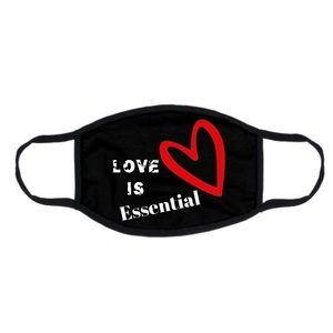 Love is essential face mask
